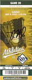 Dallas Braden perfect game (autographed)